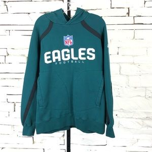 NFL Philadelphia Eagle Pull Over Sweatshirt 1868